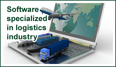 Software specialized in logistics industy