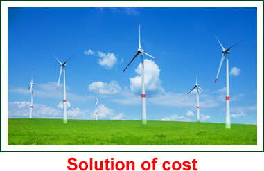 Solution of cost